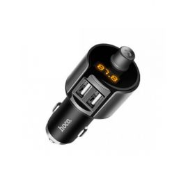 FM модулятор Hoco E19 bluetooth+2 USB 2.4A, фото 1